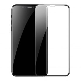 2 Db Üvegfólia Csomag, Apple iPhone XR / 11, Baseus edzett üveg, 6,1″