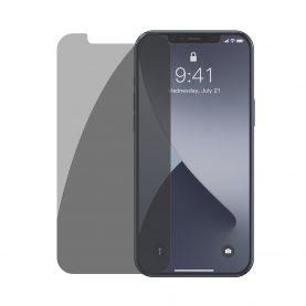 2 Db Üvegfólia Csomag iPhone 12 Mini, Baseus edzett üveg, 5,4″