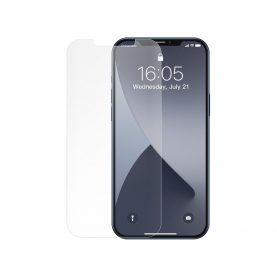 2 Db Üvegfólia Csomag iPhone 12 Mini, Baseus edzett üveg, Vastagság 0,25 mm, 5,4″