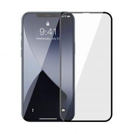 2 Db Üvegfólia Csomag iPhone 12 Pro Max Készülékhez, Baseus edzett üveg, Kék fényszűrő, 6,7″