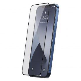 2 Db Üvegfólia Csomag Iphone 12 Pro Max Készülékhez, Baseus edzett üveg, Vastagság 0,25 Mm, Átlátszó