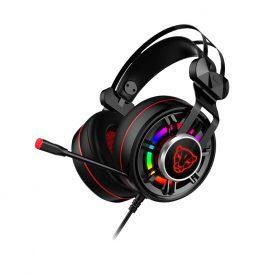 Gamer Fejhallgató Motospeed G919, Mikrofon, RGB fények, 1,6 m-es kábel