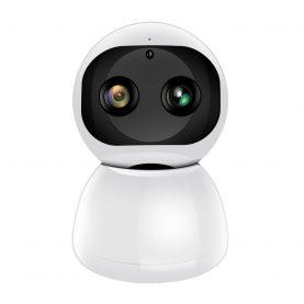 Bébiőr Little Binocular Snowman AD118, 120 ° Figyelés, 8X Zoom, Kétirányú kommunikáció, Éjszakai nézet
