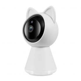 Bébiőr Little Cat A280, 360 ° Figyelés, Kétirányú kommunikáció, 1080P felbontás, Éjszakai nézet, microSD foglalat