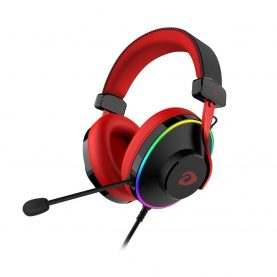Gamer Fejhallgató  Dareu EH745, USB csatlakozás /Jack 3,5 mm , Mikrofon, 7.1 Hang, RGB fények