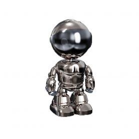 Bébiőr Galvanizált Iron Man A160-B, Kétirányú kommunikáció, Éjszakai nézet, 360 ° -os figyelés, Alkalmazásvezérlés, MicroSD foglalat