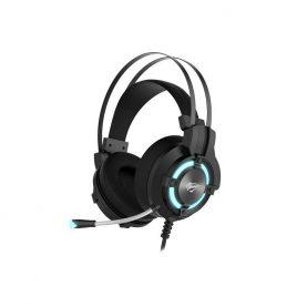 Gamer Fejhallgató Havit, H2212U, USB csatlakozás, LED világítás, Mikrofon, Kábel 2,5 m