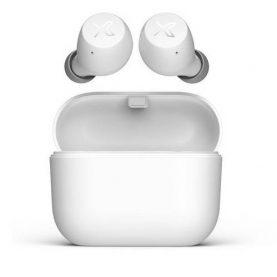 Fülhallgató Edifier X3, Bluetooth 5.0, Vezeték nélküli, 5 órás üzemidő, IPX5 vízállóság, Töltőházzal, Fehér