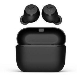 Fülhallgató Edifier X3, Bluetooth 5.0, Vezeték nélküli, 5 órás üzemidő, IPX5 vízállóság, Töltőházzal, Fekete
