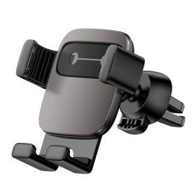 Baseus Cube Autós mobil telefon tartó, Szellőzőrácsra, Fekete
