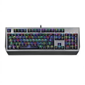 Motospeed CK99 Gaming Billentyűzet, Mechanikus, RGB megvilágítás, USB -csatlakozás, 1,6 m kábelhossz, Ergonomikus