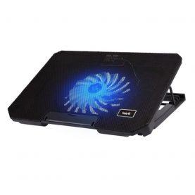 Gaming Laptop Hűtő Havit F2030, LED világítás, Állítható, 17″, Zajszint 21 dB